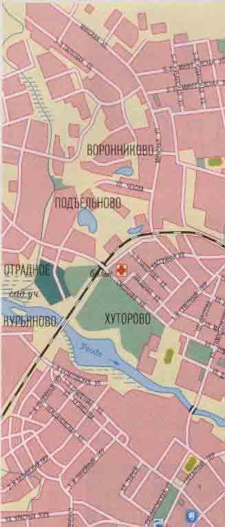 Иваново карта города схема