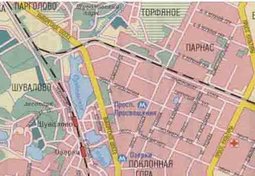 Санкт - Петербург карта города