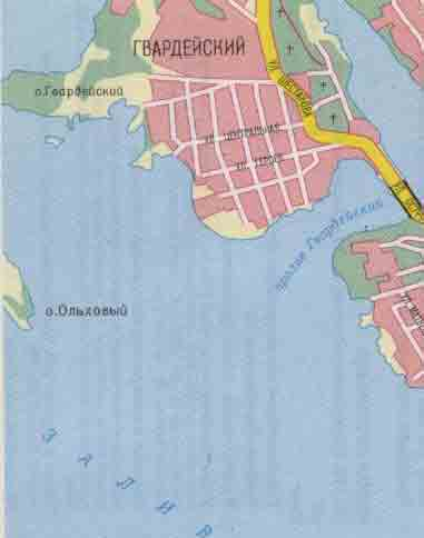 Выборг карта города схема
